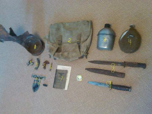 What I brought back from Normandy  :)