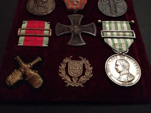 Portuguese War Cross Collection