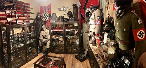 WWII Third Reich Display Room - Complete