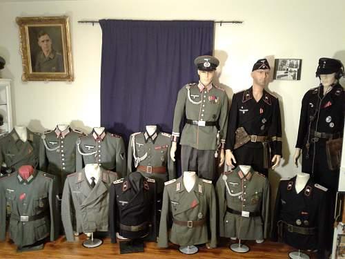 Current uniform display.