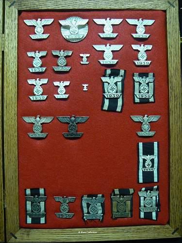My Collection of 1939 Spange zum Eisernen Kreuzes 1er & 2er Klasse 1914