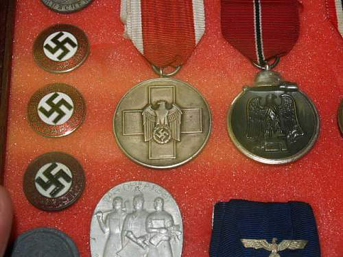 My Modest German display