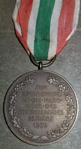 German Occupation Medals (Flower Wars)