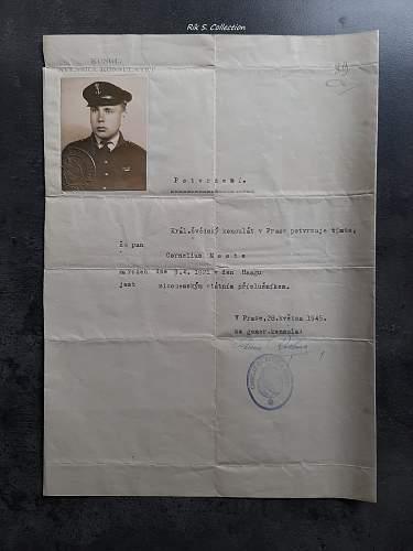 Dutch WW2 Marine veteran lot