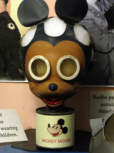 C2 'Mickey Mouse' Respirator