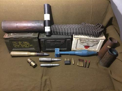 Weapons and Ammo Collection