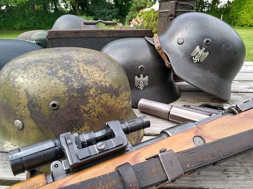 WW2 german stuff.