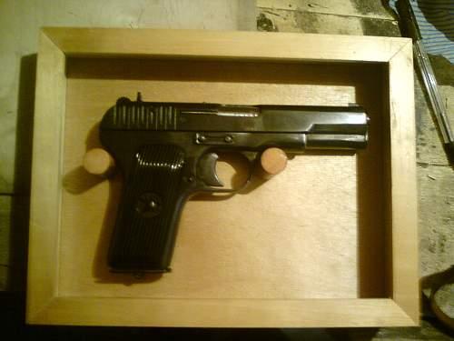 Framing Nagant Revolver and TT33 Pistol