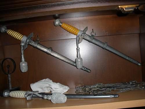 Luftwaffe daggers