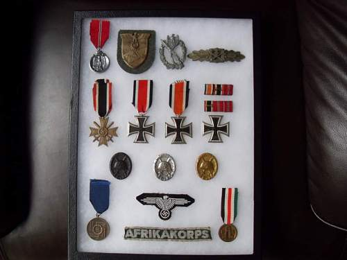 my medal collections