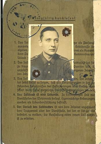 "Heer ""Battle worn"" Model 42 Feldbluse"