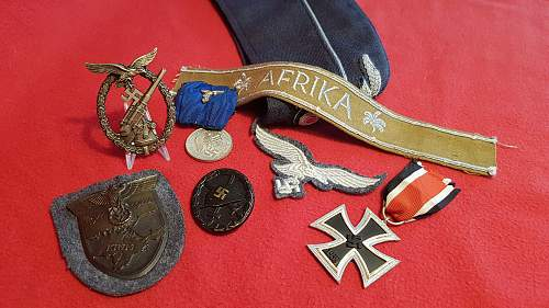 A few Luftwaffe bits and pieces