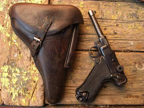 My black widow and holster     d.a.250
