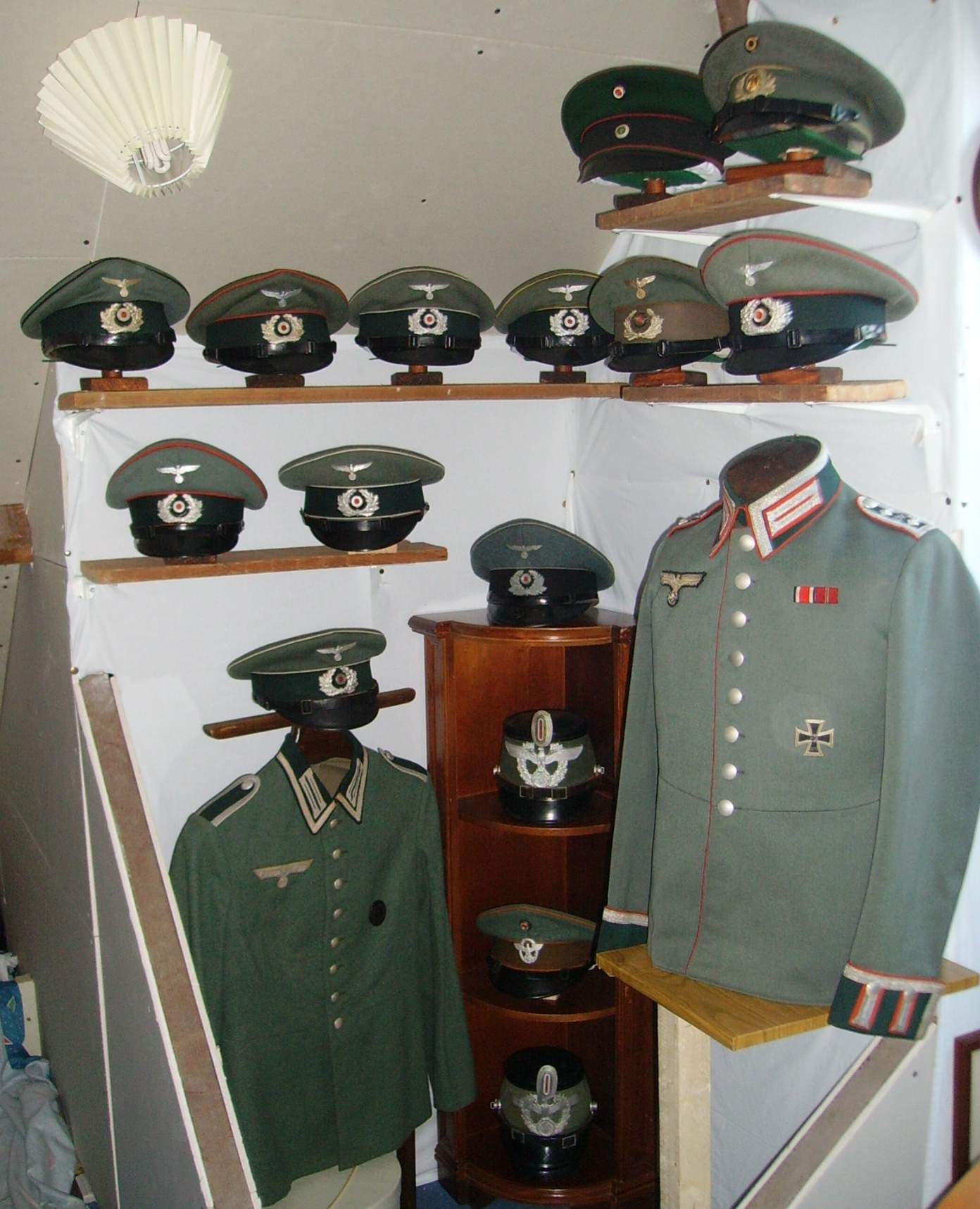 My Collection Of German Army Service Caps