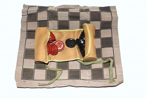 Doughboy's Checkers Set
