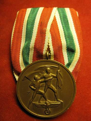 Click image for larger version.  Name:100 Commemorative Medal 22.march 1939 Memelland.jpg Views:283 Size:74.2 KB ID:180004