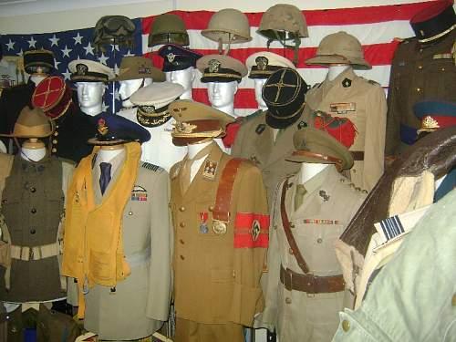 My uniform collection