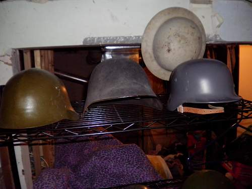 My Small Collection of Helmets