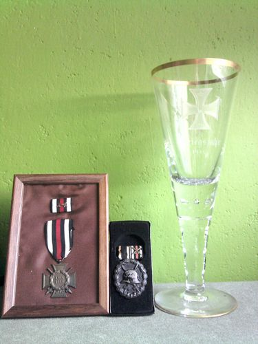 Small collection of WWII relics