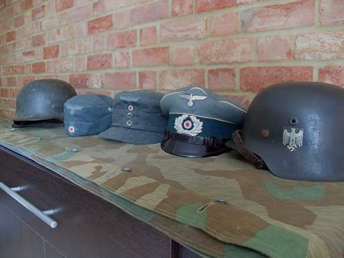 My small Heer headgear collection