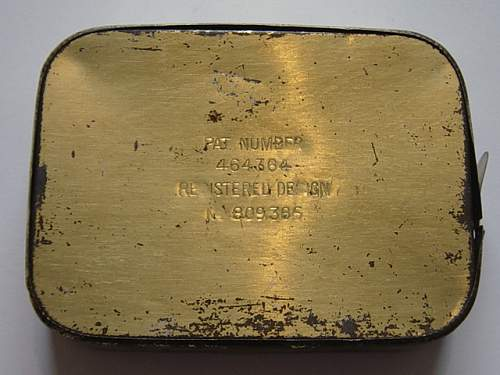 Click image for larger version.  Name:Emergency ration tin reverse..jpg Views:86 Size:155.5 KB ID:200579