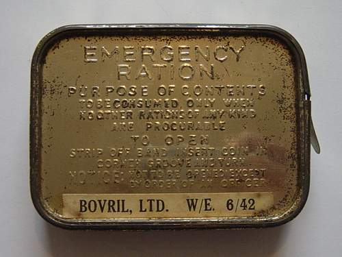 Click image for larger version.  Name:Emergency ration tin..jpg Views:1011 Size:153.4 KB ID:200580