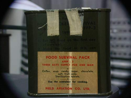 Show your WW2 foodstuffs (what perishables have you got which haven't perished?)