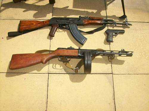 My collection of deac guns !