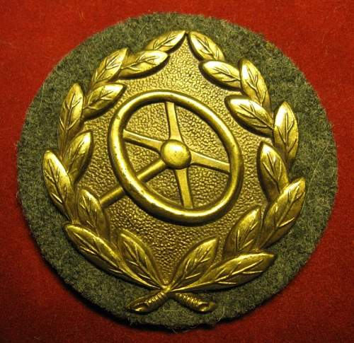 Click image for larger version.  Name:055 Driver Badge in bronze.jpg Views:1646 Size:94.9 KB ID:212607