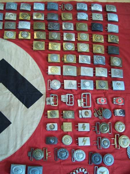 My buckle collection!