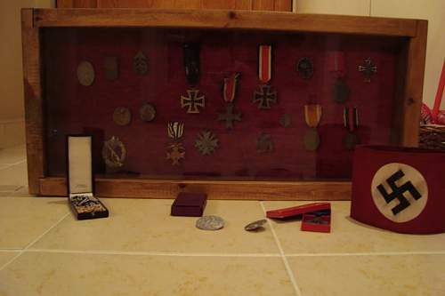 my ww2 german army collection