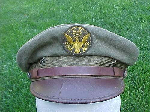 Small  collection  of  children's  military  caps