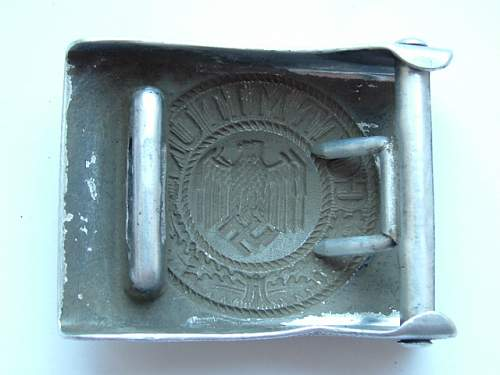 my dug up WH buckles