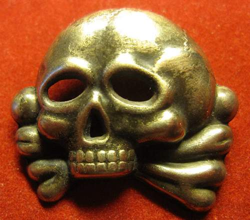 Click image for larger version.  Name:240 Totenkopf Jawless Skull Neusilber for caps..jpg Views:425 Size:86.0 KB ID:233317