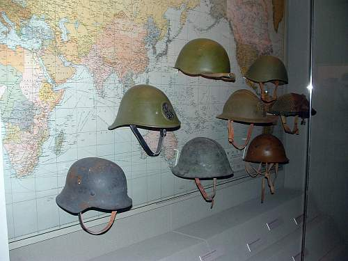My collection of Helmets -1913/1945