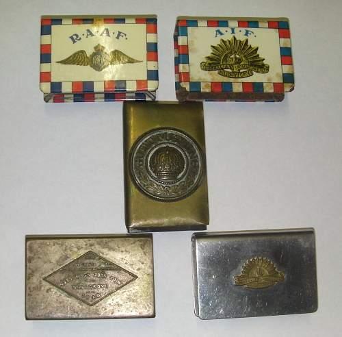Matchbox Covers