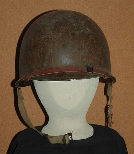 Click image for larger version.  Name:M1 Helmet Front.JPG Views:194 Size:79.1 KB ID:252818