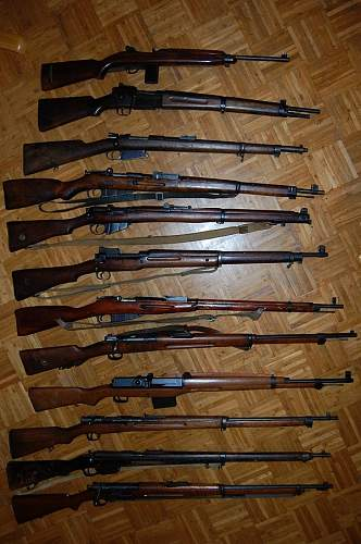 My small weapon collection