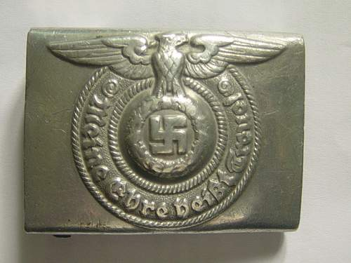 Click image for larger version.  Name:SS Belt buckle. RZM 822 38 001.jpg Views:59 Size:151.4 KB ID:260556
