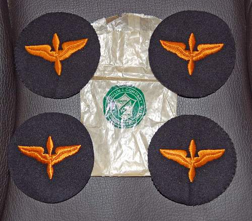 WWII items of 15th USAAF