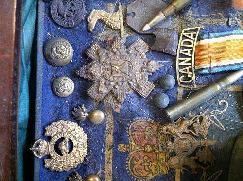 Newly inherited ww1 items. Would like some help idetifying.