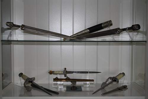 A couple of daggers.