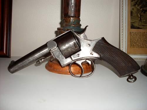 Webley No 1 R.I.C revolver.