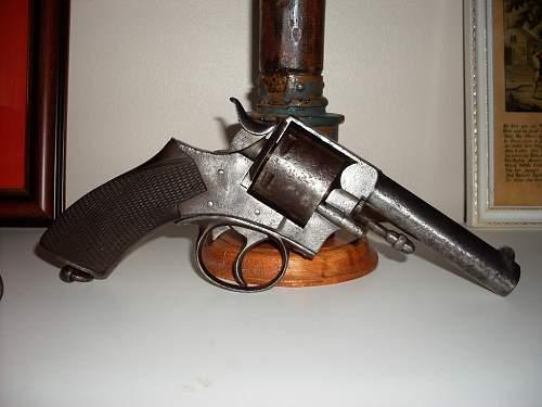 Click image for larger version.  Name:Webley No 1 R.I.C revolver 007.jpg Views:232 Size:60.9 KB ID:281650