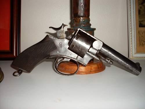Click image for larger version.  Name:Webley No 1 R.I.C revolver 008.jpg Views:491 Size:54.1 KB ID:281651