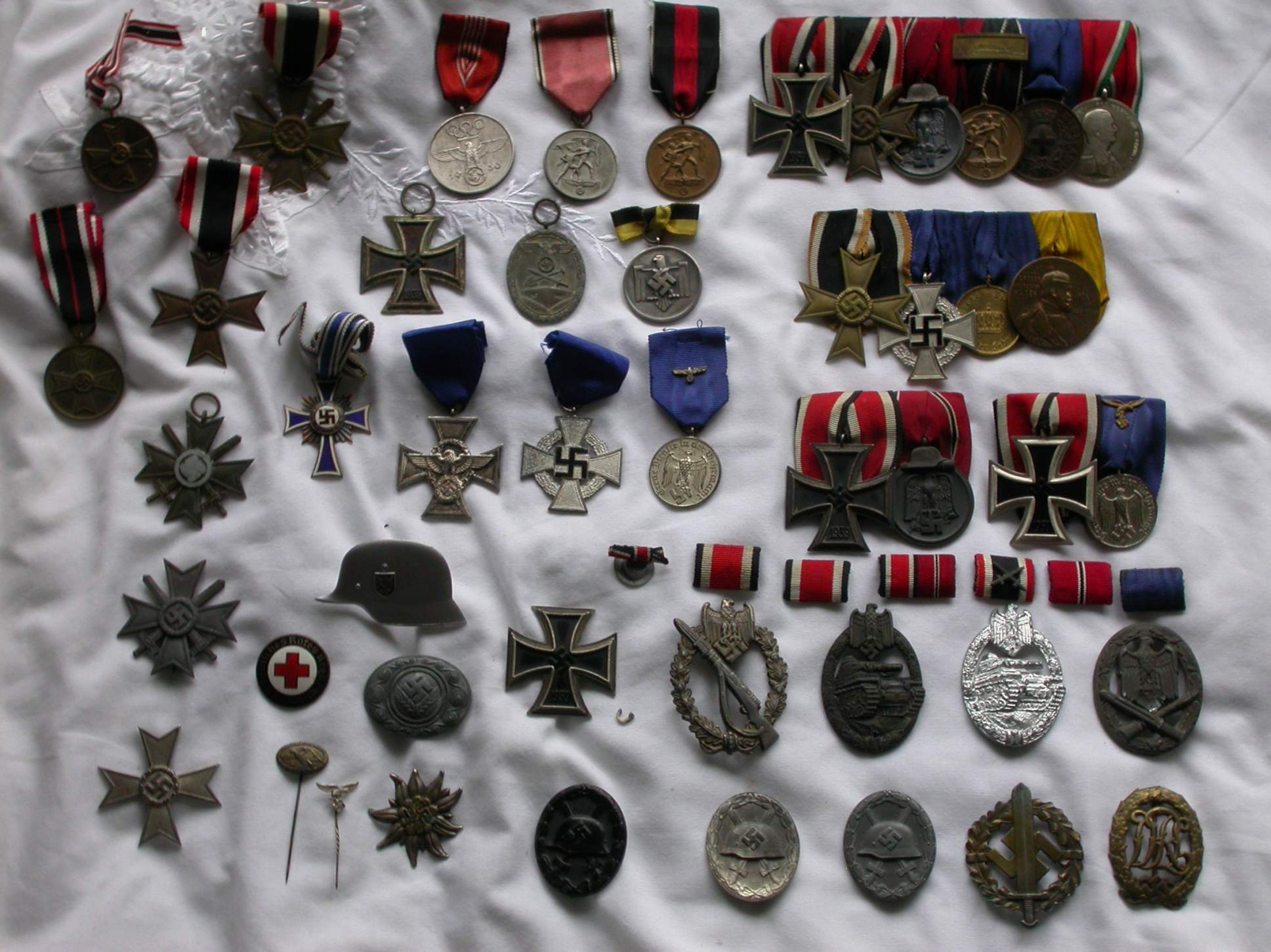 Medal collection third reich imperial irish world etc - German military decorations ww2 ...