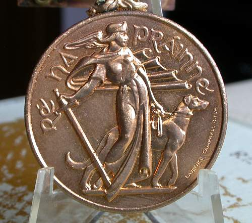 Click image for larger version.  Name:irish army defence force emergency medal 1939-1946 1.jpg Views:77 Size:213.2 KB ID:302512