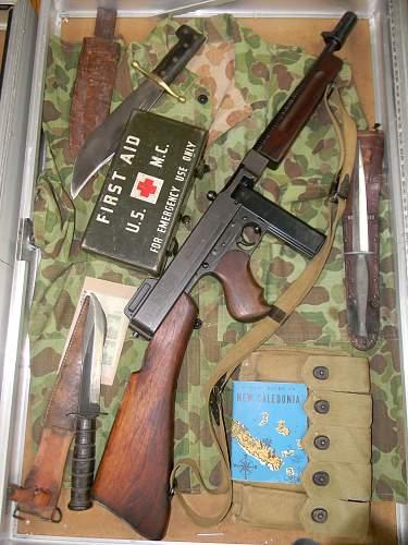 World War Two US jungle fighting gear