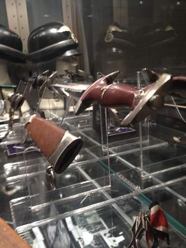 Plexi Dagger display stands..............