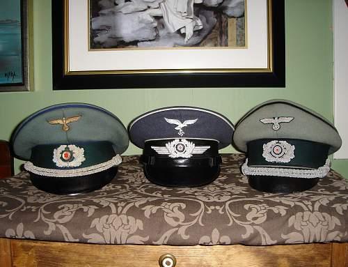 My little cap collection so far!